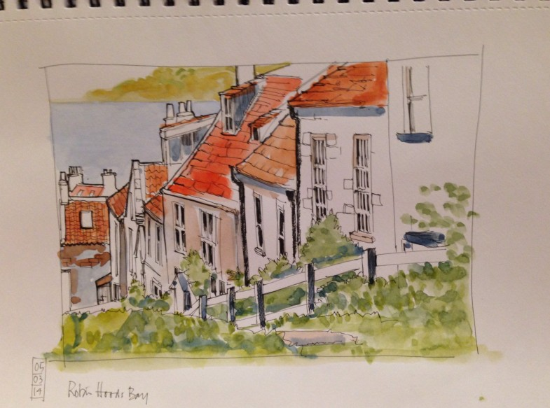 Robin Hoods bay to the sea 2