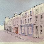 Berwick upon tweed street scene