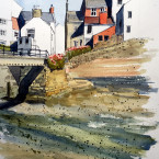 This painting sold during the Staithes Festival this year
