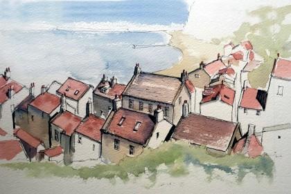 harbor rooftops