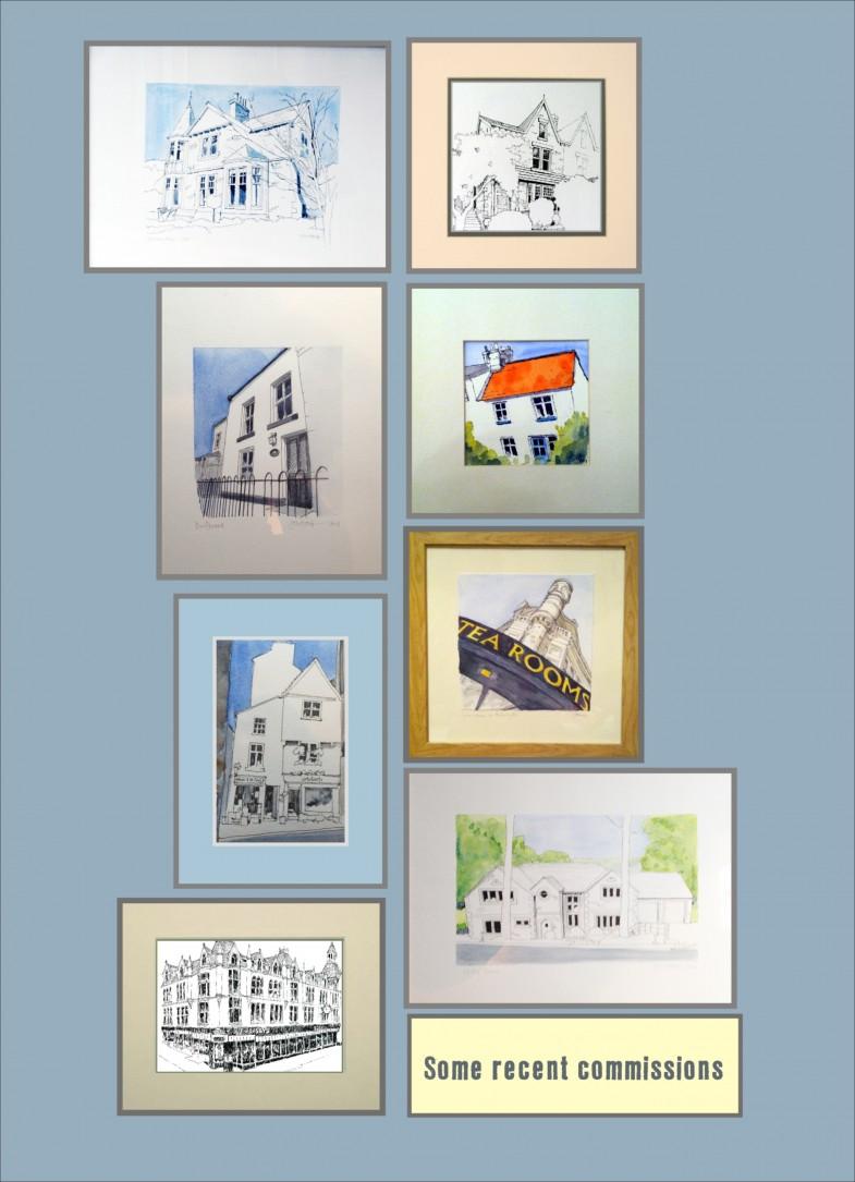 house portrait image for website
