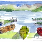 boats on grasmere